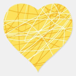 Nuevos accesorios de la tendencia 2014 del modelo pegatina en forma de corazón