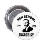Nuevos anarquistas -- Friedrich A. Hayek Pin