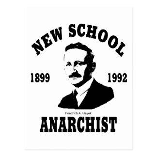 Nuevos anarquistas -- Friedrich A. Hayek Postales