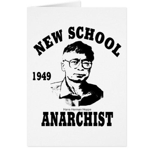 Nuevos anarquistas -- Hans-Hermann Hoppe Tarjeton