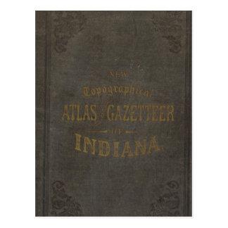 Nuevos atlas y diccionario geográfico topográficos tarjetas postales