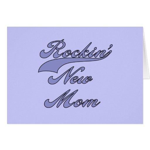 Nuevos camisetas y regalos de la mamá de Rockin Tarjetón
