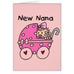 Nuevos camisetas y regalos de Nana de la niña Felicitaciones
