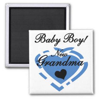Nuevos camisetas y regalos del bebé de la abuela imán cuadrado