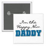 Nuevos camisetas y regalos felices del papá pins
