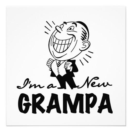 Nuevos camisetas y regalos sonrientes de Grampa Anuncio Personalizado