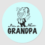 Nuevos camisetas y regalos sonrientes de la pegatinas redondas