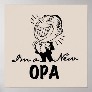 Nuevos camisetas y regalos sonrientes de Opa Póster