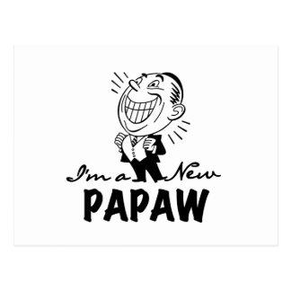 Nuevos camisetas y regalos sonrientes del Papaw Tarjetas Postales