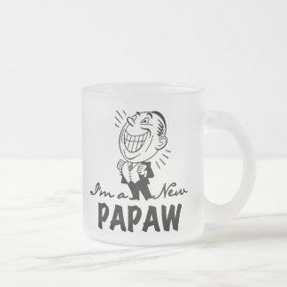 Nuevos camisetas y regalos sonrientes del Papaw Tazas