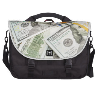 Nuevos cientos billetes de dólar bolsas para portatil