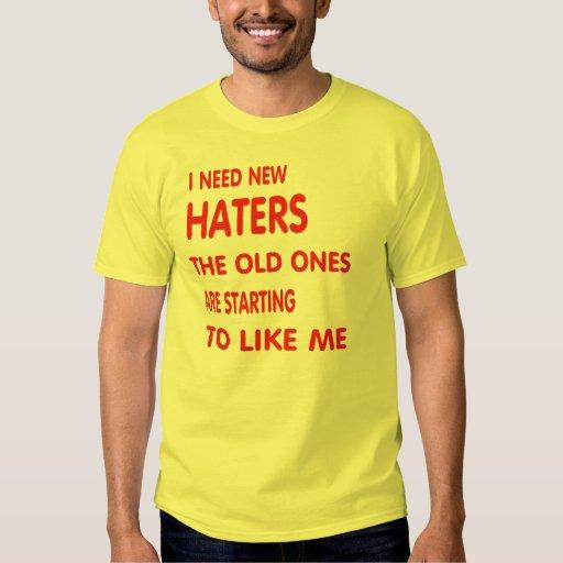 Nuevos haters. polera