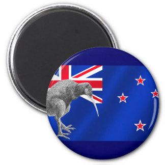 Nuevos kiwis de Zealands todos los regalos del fút Imán Redondo 5 Cm