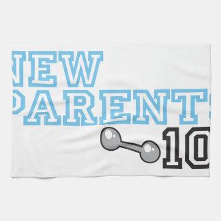 Nuevos padres toalla