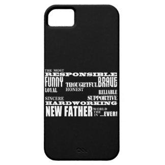 Nuevos papás y Daddys de los padres de las fiestas Funda Para iPhone 5 Barely There
