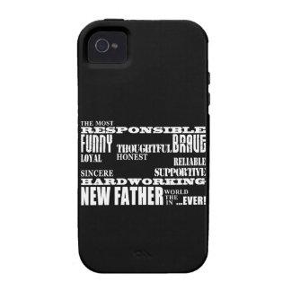 Nuevos papás y Daddys de los padres de las fiestas iPhone 4/4S Carcasa