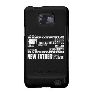 Nuevos papás y Daddys de los padres de las fiestas Samsung Galaxy S2 Fundas