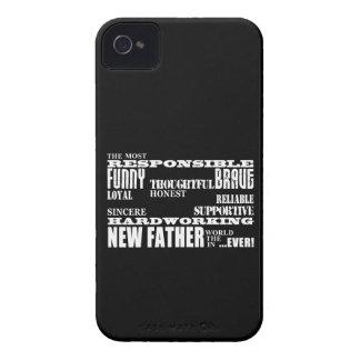 Nuevos papás y Daddys de los padres de las fiestas Case-Mate iPhone 4 Protectores
