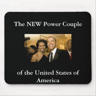 NUEVOS pares del poder de los Estados Unidos Alfombrillas De Ratones
