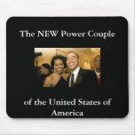 NUEVOS pares del poder de los Estados Unidos Tapetes De Ratón