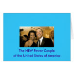 NUEVOS pares del poder de los Estados Unidos Felicitacion