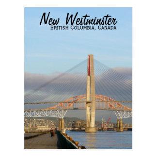 Nuevos paseo marítimo y puerto de Westminster Quay Tarjeta Postal