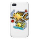 Nuevos pescados del bebé iPhone 4 cárcasa
