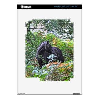 Nuevos potro y bosque negros Reino Unido del Pegatina Skin Para iPad 3