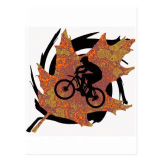Nuevos rastros de la bici tarjetas postales