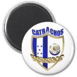Nuevos regalos 2010 del futbol del Los Catrachos H Imán Redondo 5 Cm