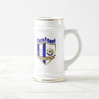 Nuevos regalos 2010 del futbol del Los Catrachos H Tazas De Café