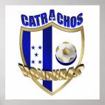 Nuevos regalos 2014 del futbol del Los Catrachos H Posters