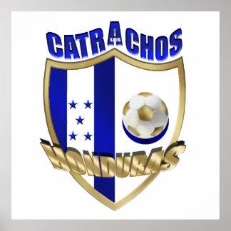 Nuevos regalos 2014 del futbol del Los Catrachos H Póster