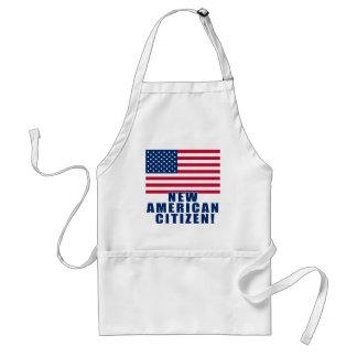Nuevos regalos y camisetas americanos del ciudadan delantales