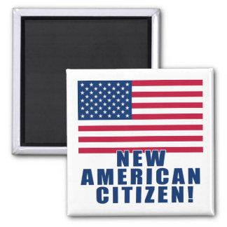 Nuevos regalos y camisetas americanos del ciudadan iman para frigorífico