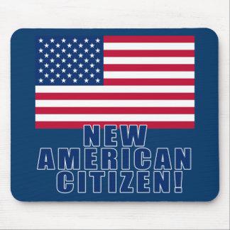 Nuevos regalos y camisetas americanos del ciudadan alfombrilla de ratón
