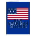 Nuevos regalos y camisetas americanos del ciudadan felicitaciones