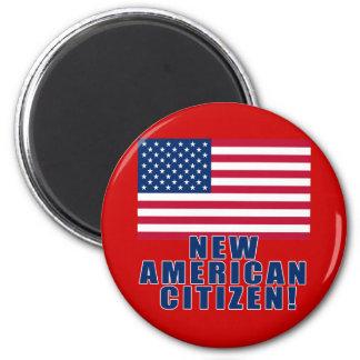 Nuevos regalos y camisetas americanos del imán redondo 5 cm
