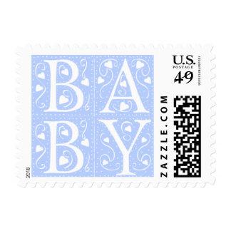Nuevos sellos de la invitación del bebé