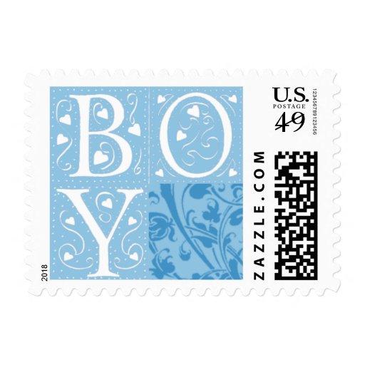 Nuevos sellos de la invitación del bebé del bebé