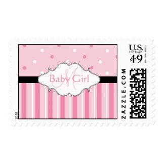Nuevos sellos de la niña del monograma