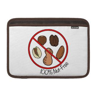 Nuez 100% libre (nueces y cacahuetes del árbol) fundas macbook air