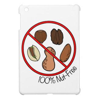 Nuez 100% libre (nueces y cacahuetes del árbol) iPad mini protectores