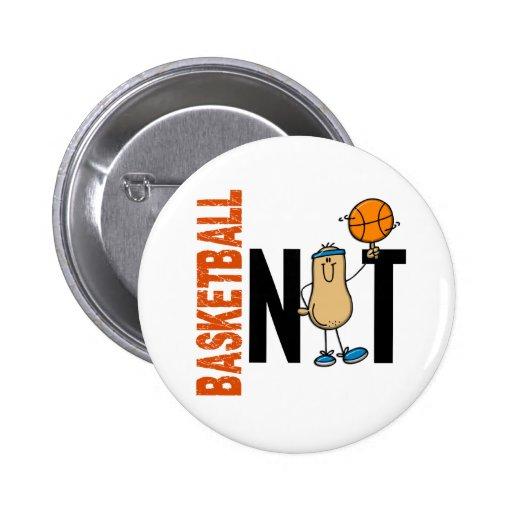 Nuez 1 del baloncesto pins
