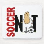 Nuez 1 del fútbol alfombrilla de raton