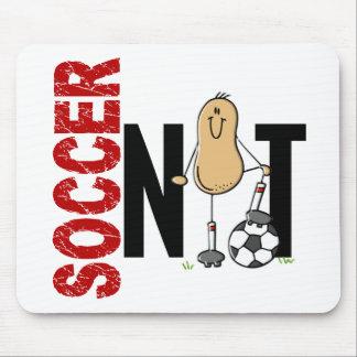 Nuez 1 del fútbol alfombrillas de ratones