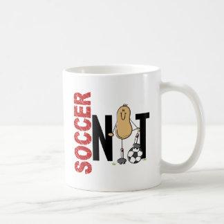 Nuez 1 del fútbol taza de café