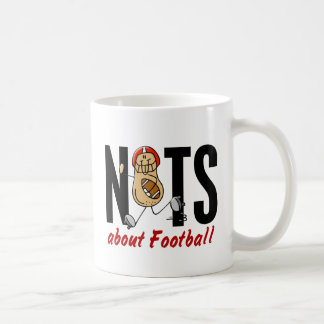 Nuez 2 del fútbol tazas de café
