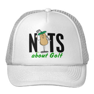 Nuez 2 del golf gorro