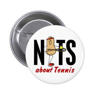 Nuez 2 del tenis pin redondo de 2 pulgadas